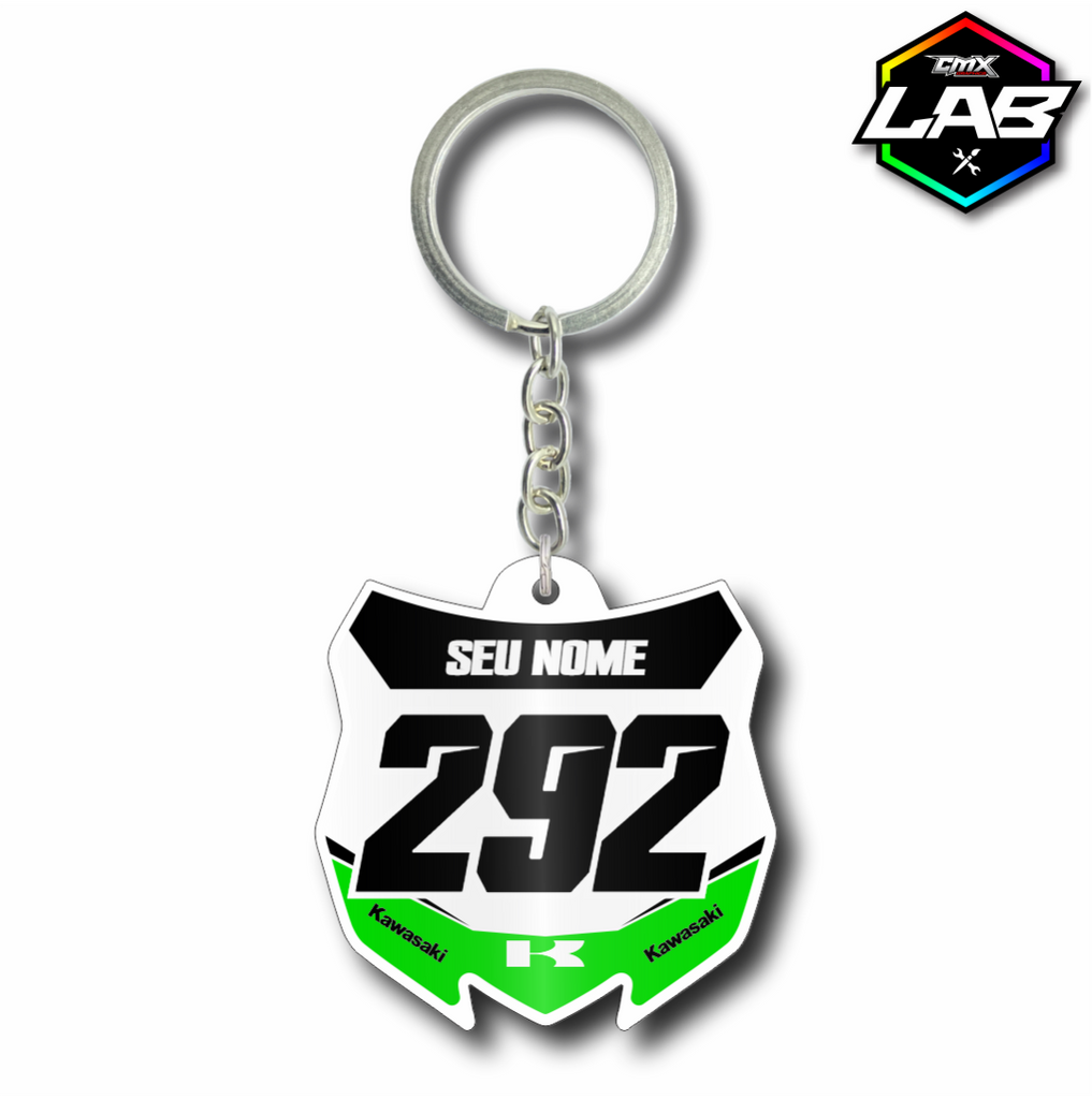 Double Sided Keychain Kawasaki 01 - Design 05