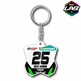 Double Sided Keychain Kawasaki 02 - Design 02