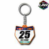 Double Sided Keychain KTM 01 - Design 02