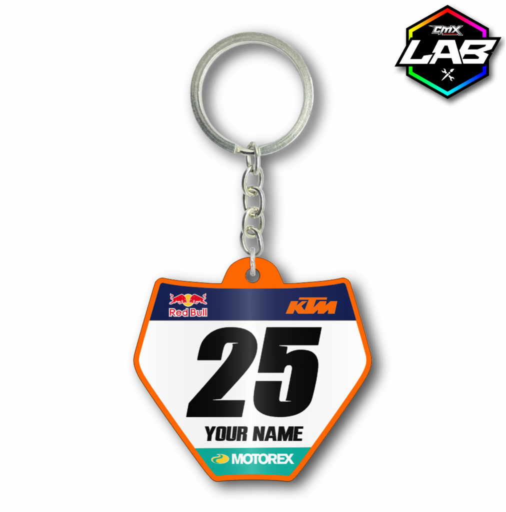 Double Sided Keychain KTM 02 - Design 02