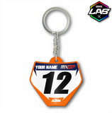 Double Sided Keychain KTM 02 - Design 03