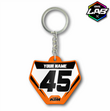 Double Sided Keychain KTM 02 - Design 04