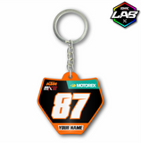 Double Sided Keychain KTM 02 - Design 06
