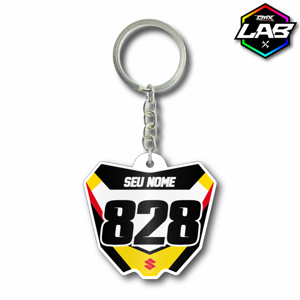 Double Sided Keychain Suzuki - Design 03