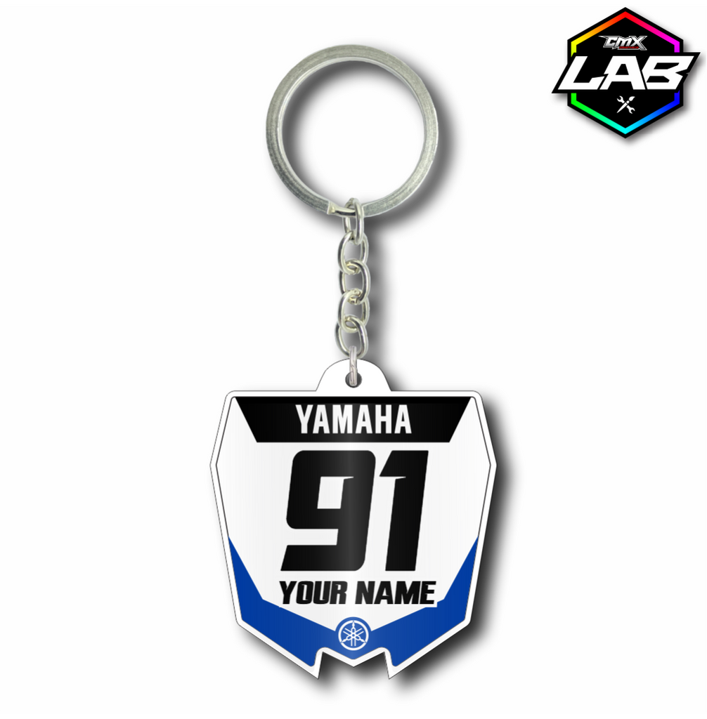 Double Sided Keychain Yamaha - Design 02