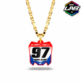 Double Sided Necklace Honda 01 - Design 01