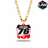 Double Sided Necklace Honda 01 - Design 04