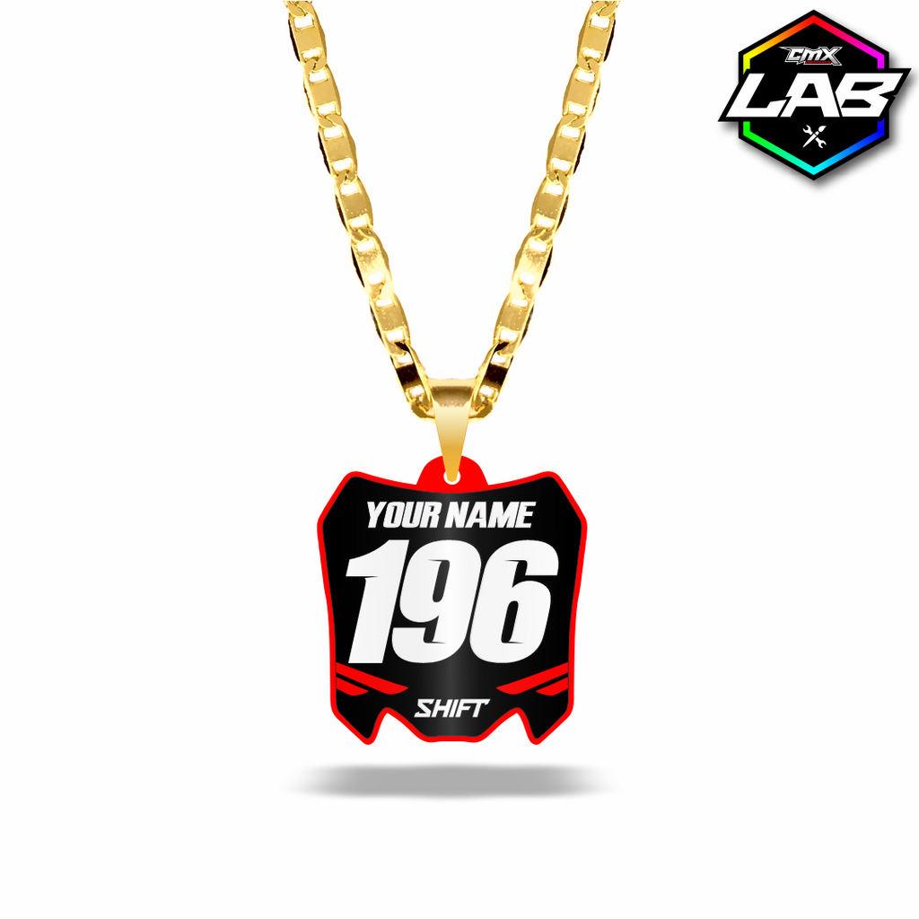 Double Sided Necklace Honda 01 - Design 05
