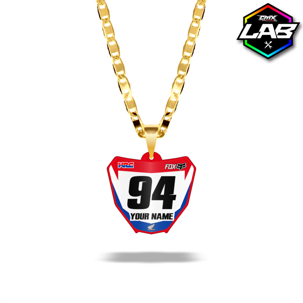 Double Sided Necklace Honda 02 - Design 01