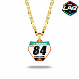 Double Sided Necklace KTM 02 - Design 01