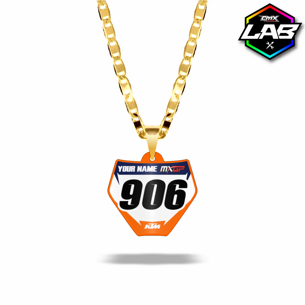 Double Sided Necklace KTM 02 - Design 03