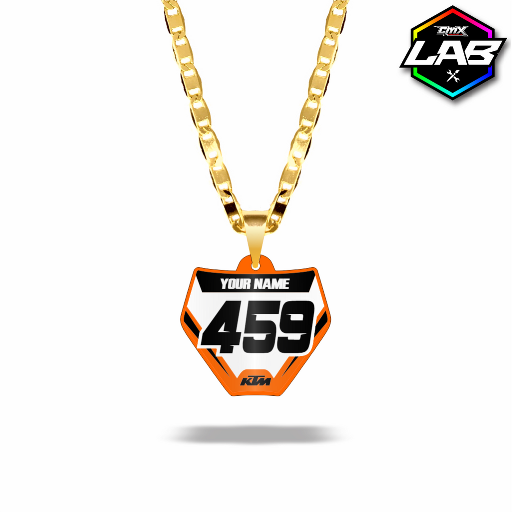 Double Sided Necklace KTM 02 - Design 04