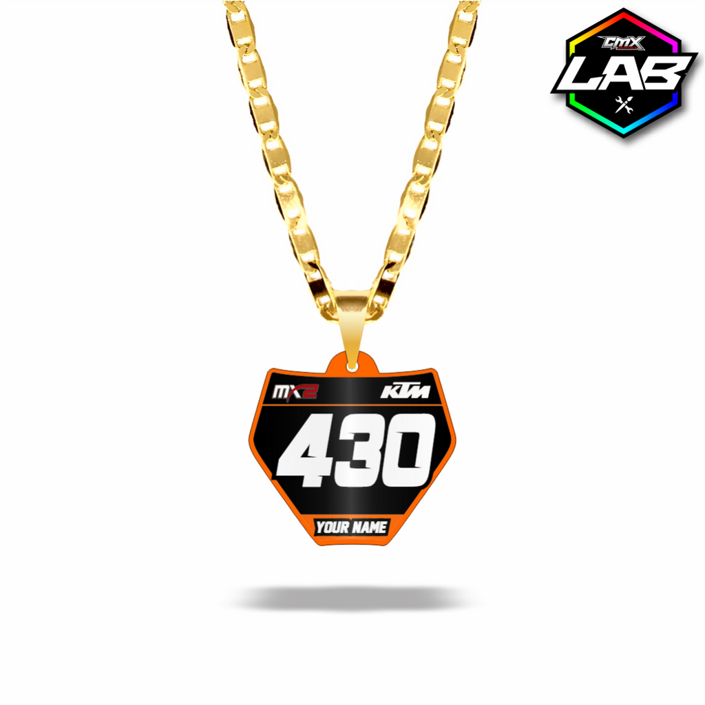 Double Sided Necklace KTM 02 - Design 05