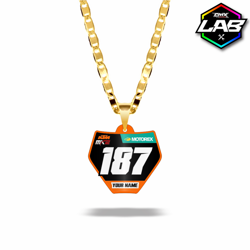 Double Sided Necklace KTM 02 - Design 06