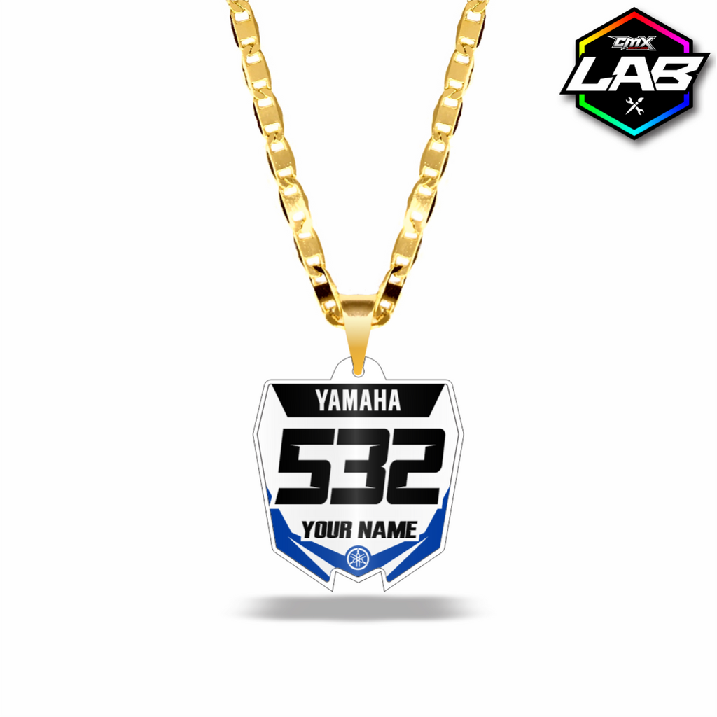 Double Sided Necklace Yamaha - Design 02
