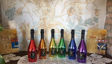 Load image into Gallery viewer, Rainbow Collection 6 Bottle Set in Luxury Silk Lined Wooden Gift Box