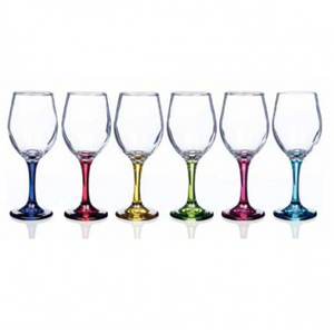 Rainbow Stem Glass