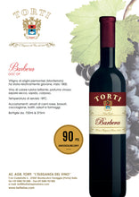 Load image into Gallery viewer, Torti Barbera DOC OP Red Wine