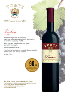 Torti Barbera DOC OP Red Wine