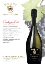 Load image into Gallery viewer, Wooden TORTI Branded Gift Box & 2 Bottles Casaleggio Sparkling Wine