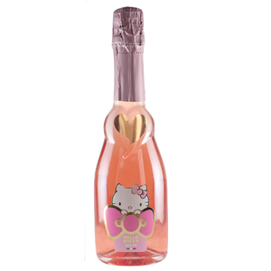 Rose Bear & Hello Kitty Sweet Sparkling Pink Rosé 375ml