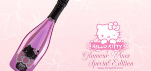 Hello Kitty Wine Sparkling Rose Wine Gifts UK