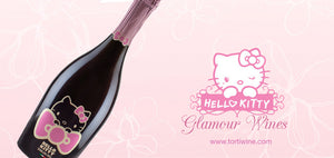 Hello Kitty Wine Sparkling wine Rose wine