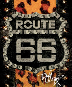 Officially Licensed Route66 Barbera Doc Op Tony Moore's Signature Collection