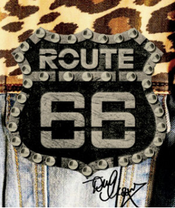 Personalised 3 Bottles Route66 Pinot Nero vinified in White Doc Op Tony Moore's Signature Collection