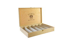 Load image into Gallery viewer, Wooden TORTI Branded Gift Box & 6 Bottles Casaleggio Sparkling Rosè