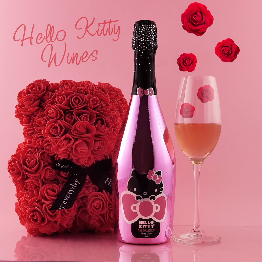 Rose Bear & Hello Kitty Special Edition Sparkling Rosè