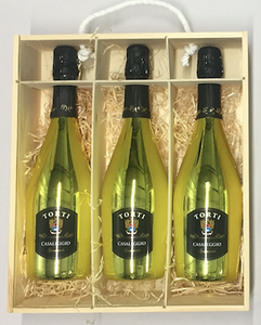 Rainbow Collection Personalised 3 Bottle Wine Box (Choose Your Own Design)