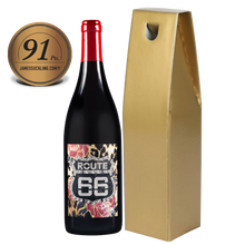 Load image into Gallery viewer, Officially Licensed ROUTE 66 Pinot Noir IGP Tony Moore's Signature Collection 91pts From