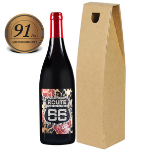 Officially Licensed ROUTE 66 Pinot Noir IGP Tony Moore's Signature Collection 91pts From