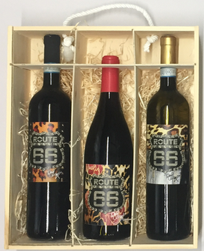 Personalised 3 Bottles Route66 Tony Moore's Signature Collection Full Set