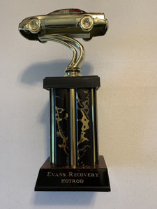Hot Rod Trophy Award Sent to United Kingdom Customer