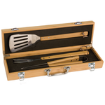 Bamboo BBQ Gift Set with Free Engraving