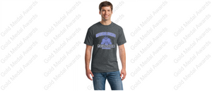 MHS Unfinished Business Football Player Design T-shirt