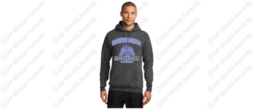 MHS Player Design Unfinished Business Football Hoodie