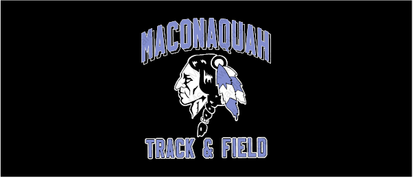 Maconaquah Track Team Logo T-Shirt-OPTIONAL for Middle School