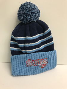 Richardson Pom Beanie Embroidered