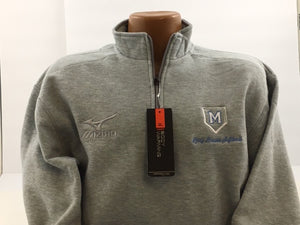 Maconaquah Lady Braves Mizuno Half-Zip Unizex Fleece Pullover
