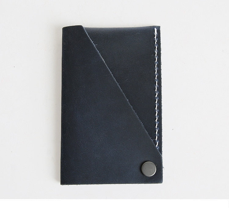 Leather Flip Wallet