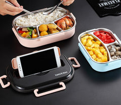 Lunch Box Phone Holder
