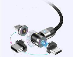 Rotating Magnetic USB Cable