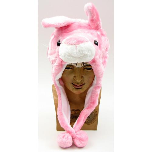 Kids Rabbit Plush Hat