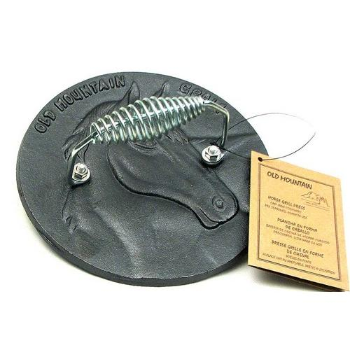 Horse Grill Press Cast Iron