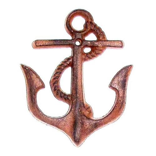 Cast Iron Anchor Hook Small Set of 4