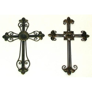 Ornate Crosses Set of 2