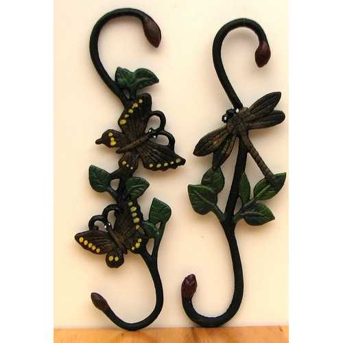 Cast Iron Butterfly & Dragonfly Plant Hanger